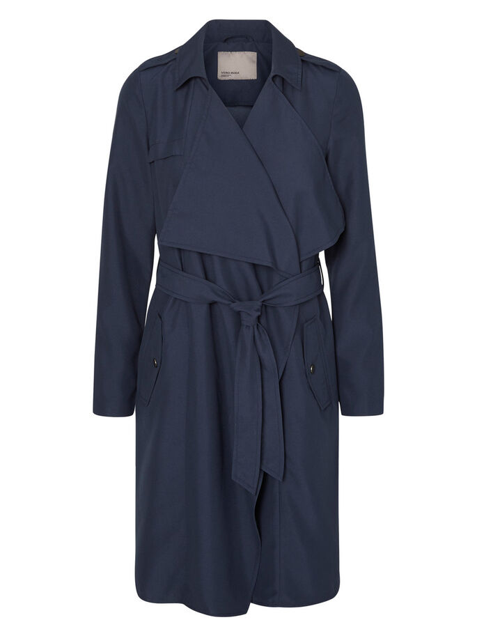 TRANSITIONAL TRENCHCOAT, Total Eclipse, large