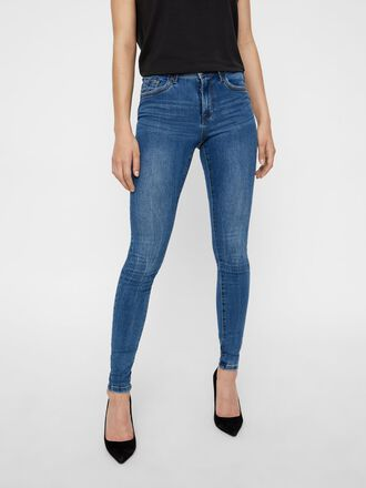 VMTANYA NORMAL WAIST SKINNY FIT JEANS
