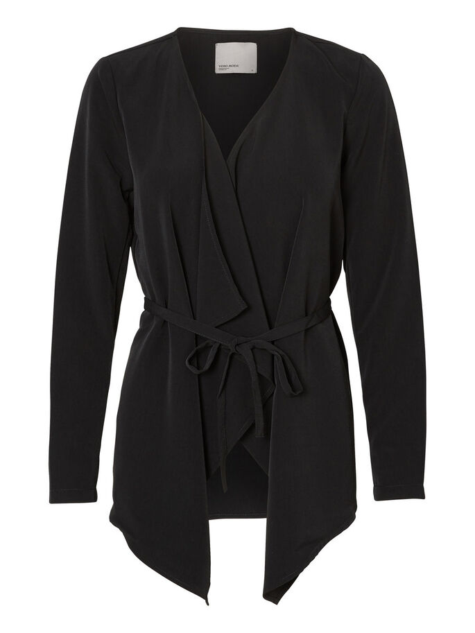 KORT TRENCHCOAT, Black, large