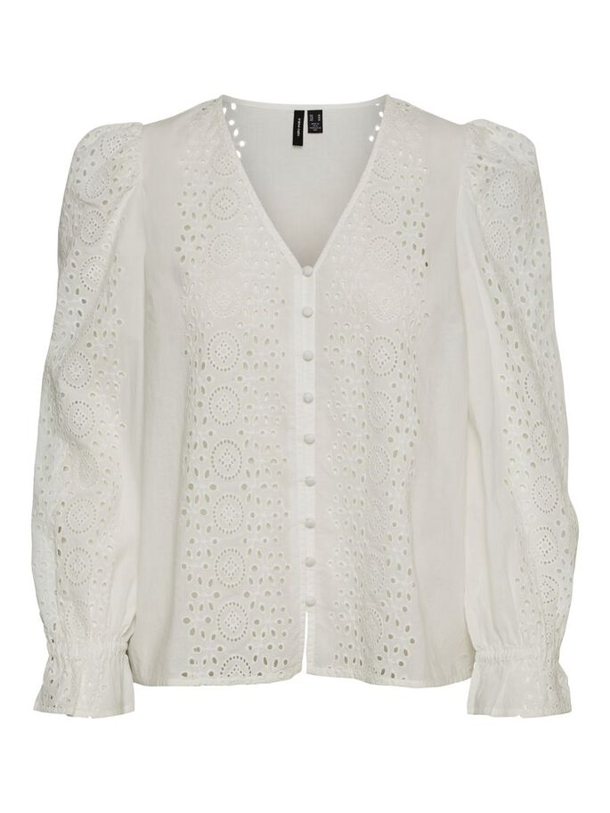 EMBROIDERED BLOUSE, Snow White, large