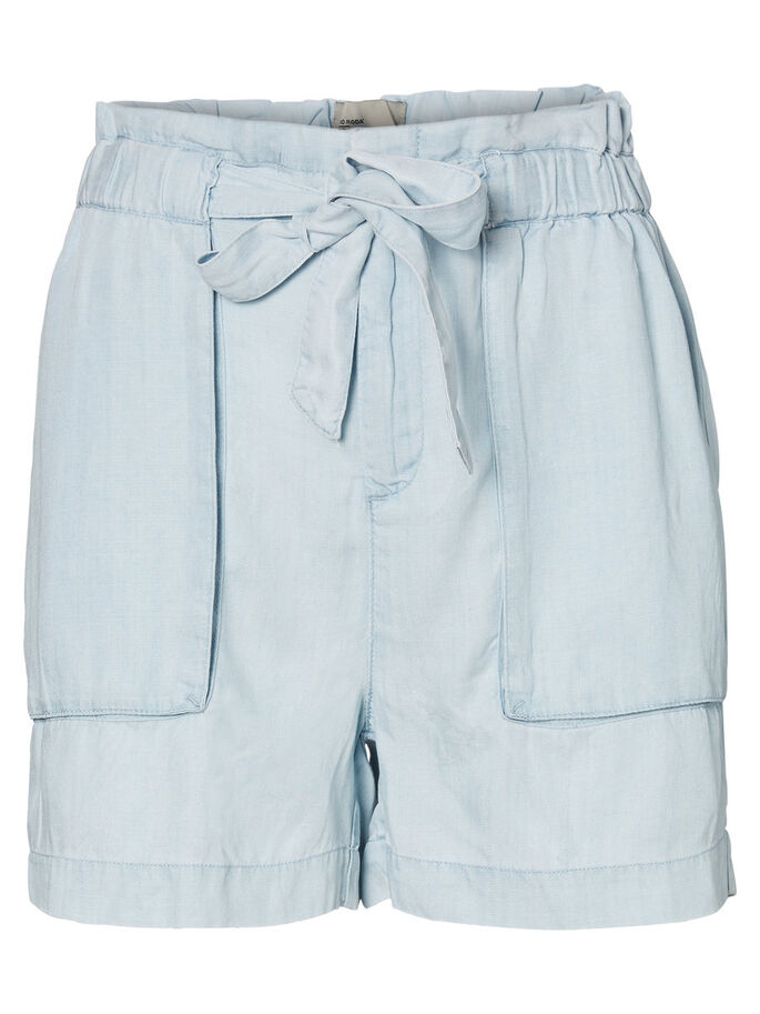 HW SHORTS, Light Blue Denim, large