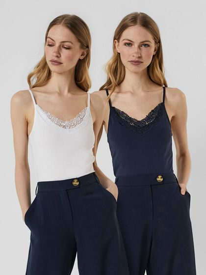 2-PACK LACE CAMI