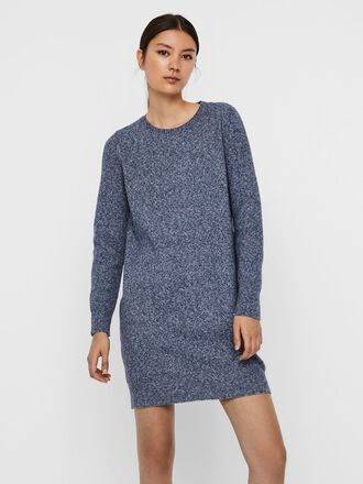 O-NECK KNITTED DRESS