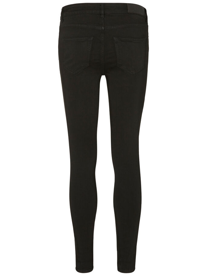 LUCY NW POWER SHAPE SKINNY FIT JEANS, Black, large