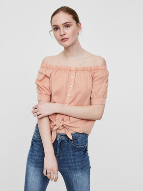 OFF-SHOULDER- HEMD