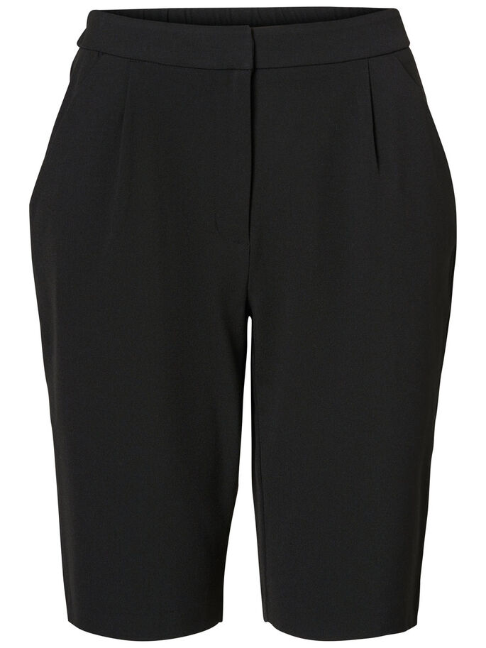 LONG NW SHORTS, Black, large
