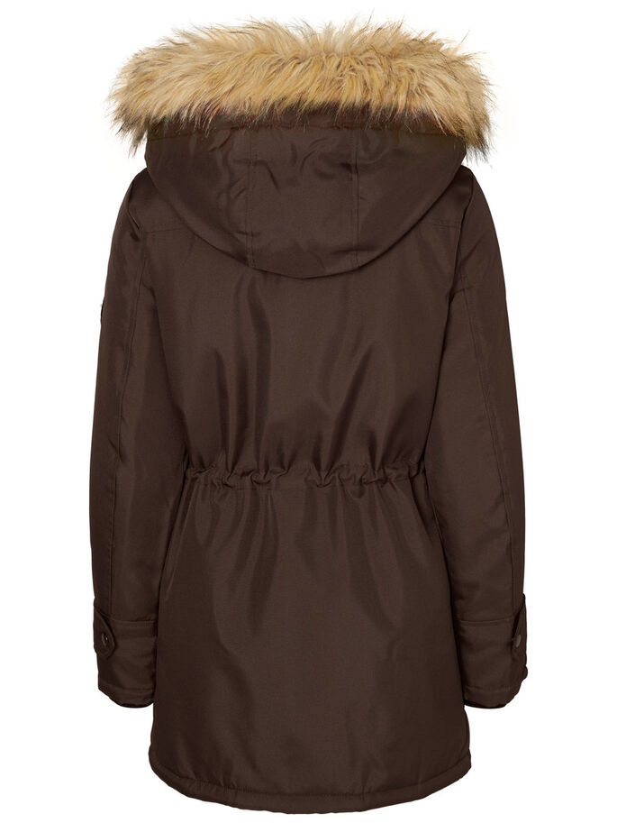 LANGE PARKA, Black Coffee, large