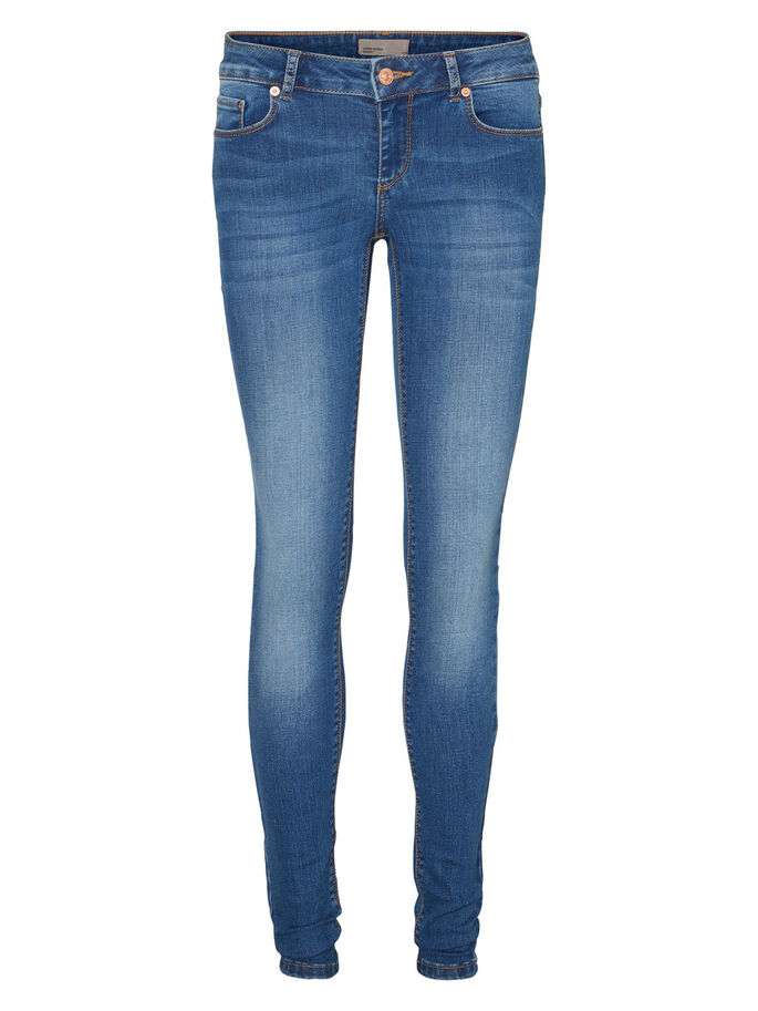 FIX LW JEAN SKINNY, Medium Blue Denim, large