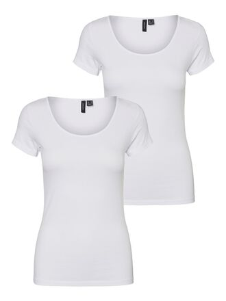 2-PACK SHORT SLEEVED TOP