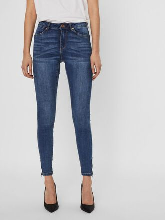 VMTILDE NORMAL WAIST ANKLE SKINNY FIT JEANS