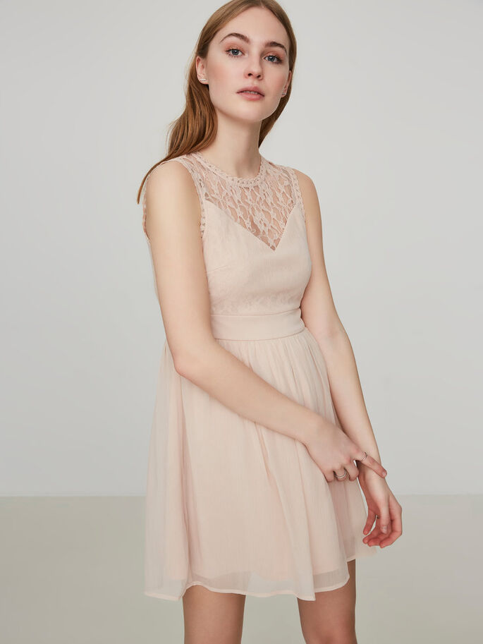 ROMANTISCHES MINIKLEID, Rose Dust, large