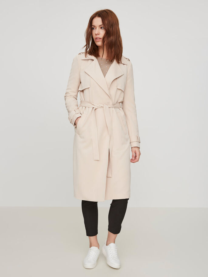 FEMININE TRENCHCOAT, Moonlight, large