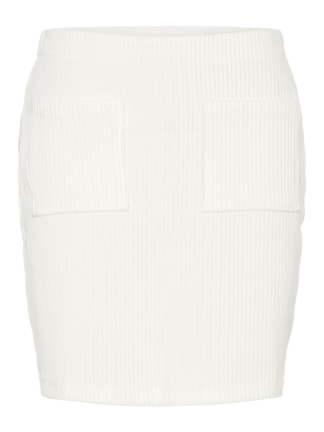 NOISY MAY Tight Fit Skirt Women White