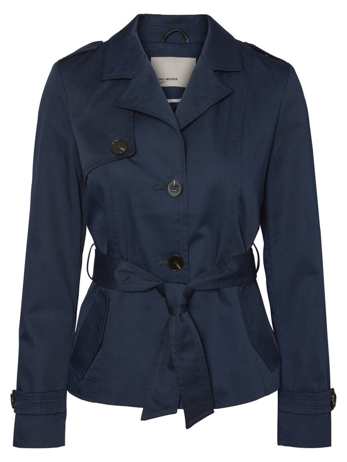 KORT TRENCHCOAT, Navy Blazer, large