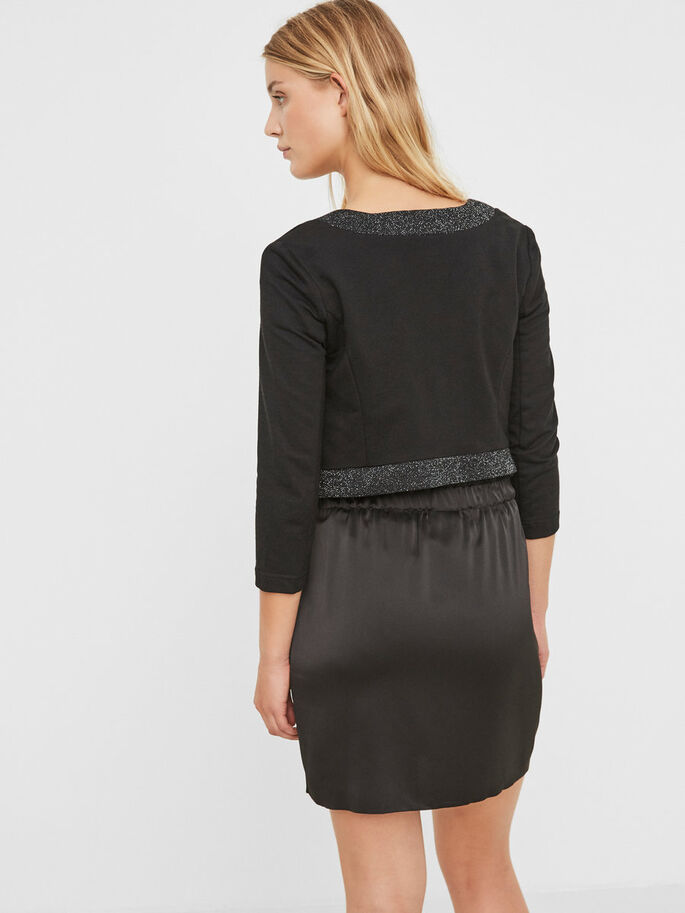 SHIMMER BLAZER, Black, large