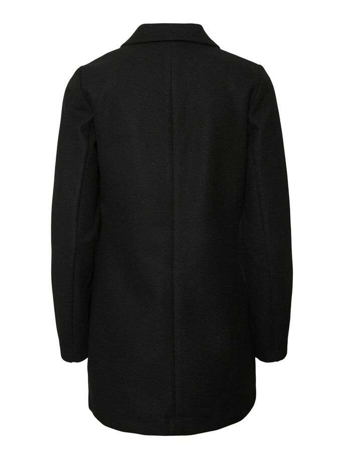 LONG MANTEAU, Black, large