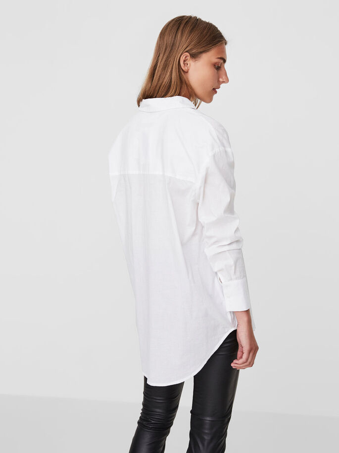 LOOSE FIT SHIRT, Snow White, large