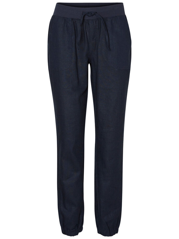 CASUAL TROUSERS, Navy Blazer, large