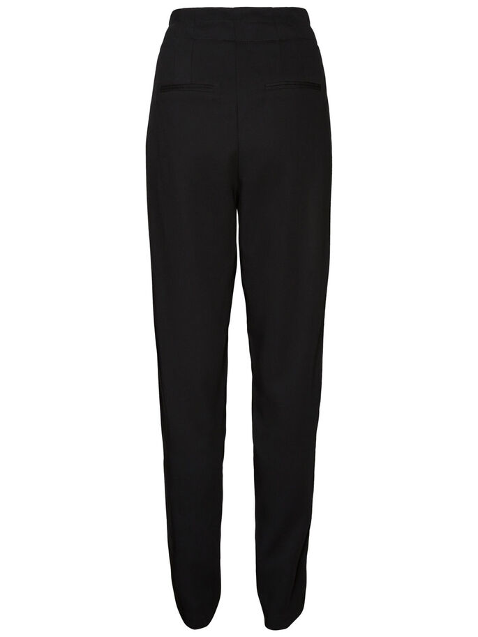 HW LOOSE FIT BROEK, Black, large