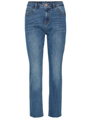 LIV NW ANKLE STRAIGHT FIT JEANS