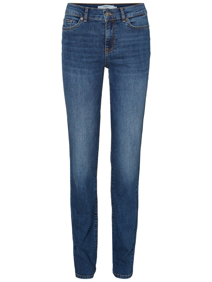 FIFTEEN NW JEAN DROIT, Medium Blue Denim, large