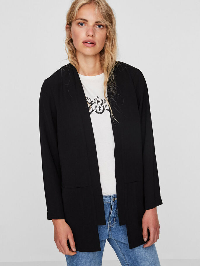 AWARE BLAZER, Black, large