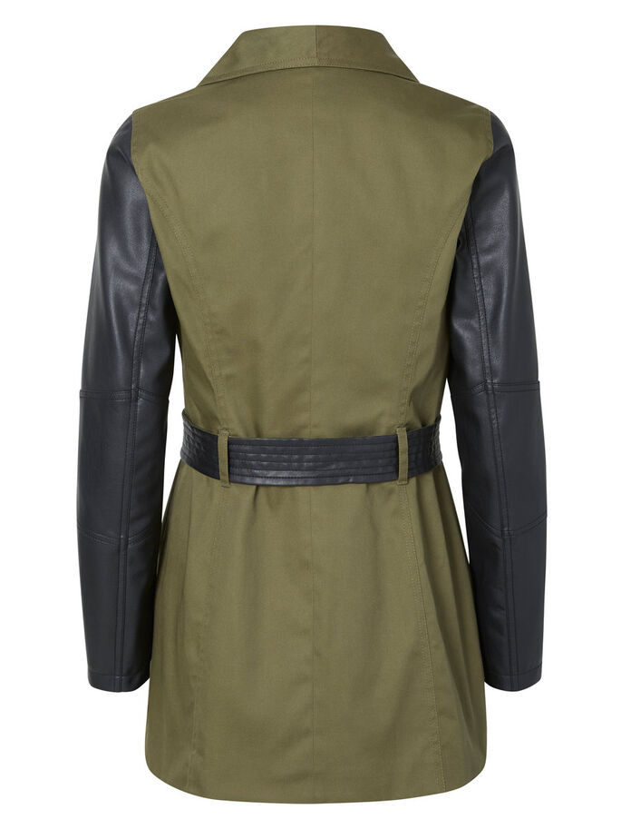 TRANSITIONAL TRENCHCOAT, Ivy Green, large