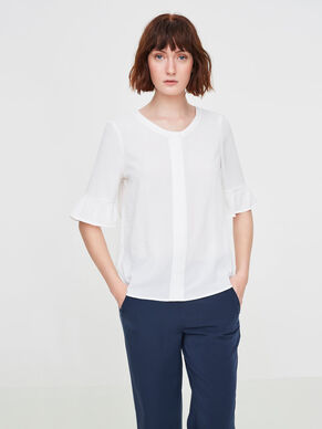 FEMININE 2/4 SLEEVED BLOUSE