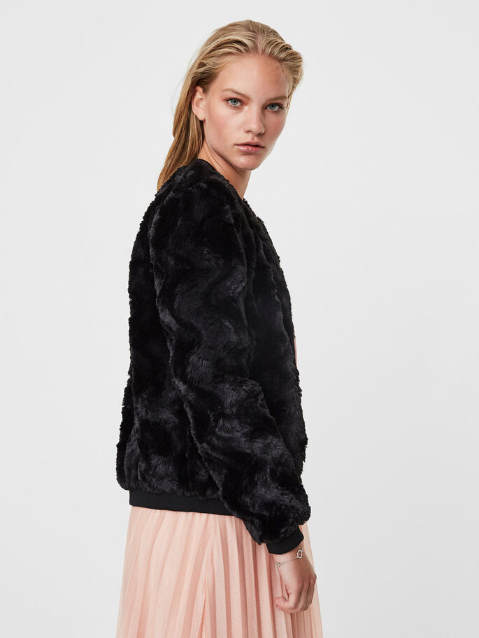 BOMBER VESTE, Black Beauty, large