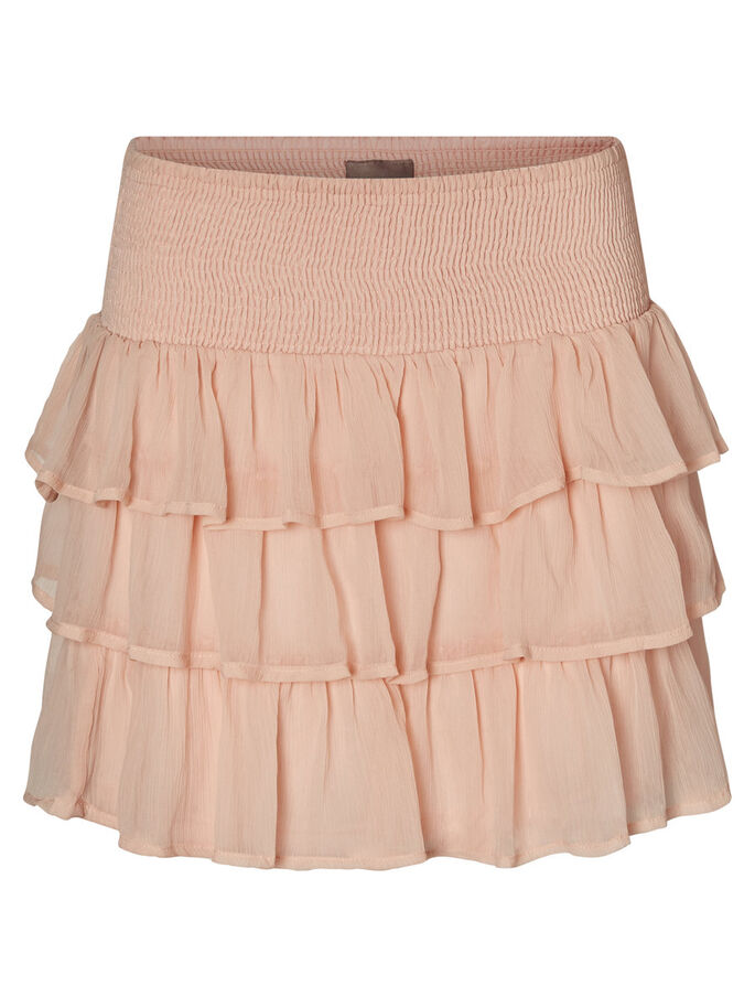 FEMININE MINI SKIRT, Cameo Rose, large