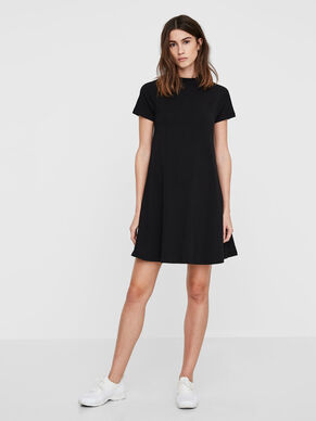 CASUAL SHORT SLEEVED DRESS