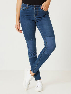 SEVEN NW ANKLE SKINNY FIT JEANS