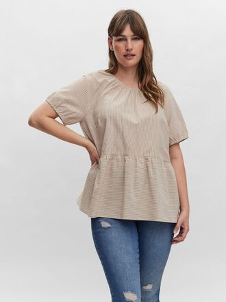 SHORT SLEEVED BLOUSE