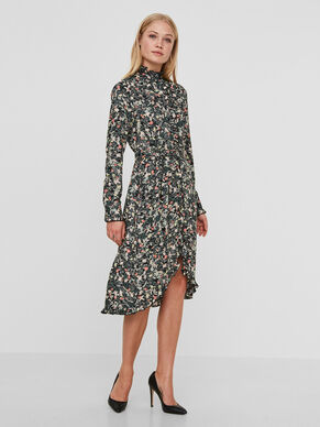 MM/VM LONG SLEEVED DRESS