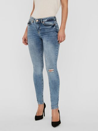 VMHANNA NORMAL WAIST SKINNY FIT JEANS