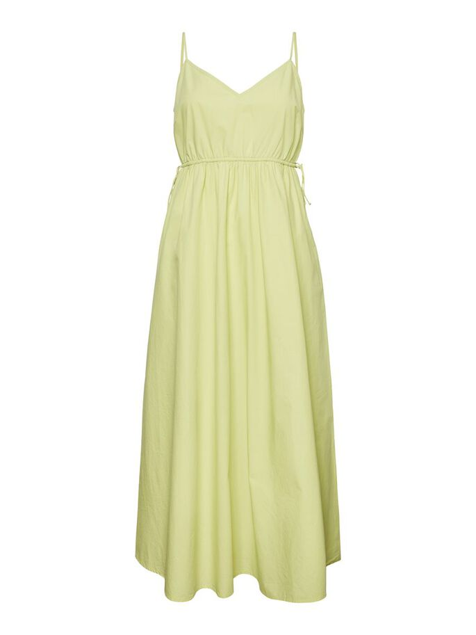 SINGLET MIDI DRESS, Celery Green, large