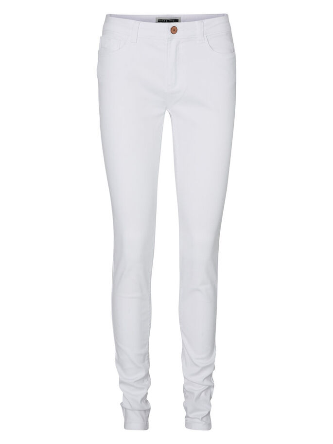 EXTREME LUCY NW SOFT SKINNY FIT JEANS, Bright White, large