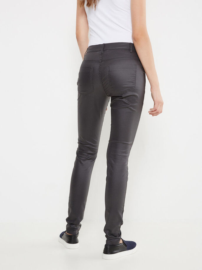 TIGHT FIT BROEK, Asphalt, large
