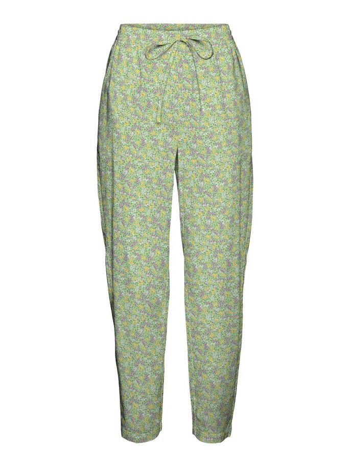 HIGH WAISTED TROUSERS, Nile Green, large