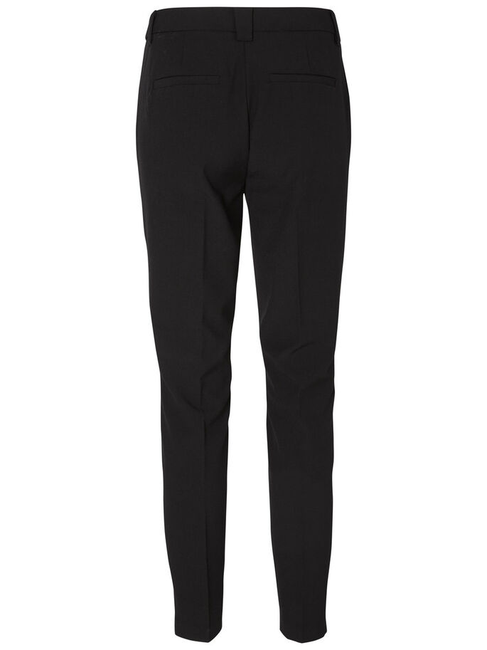 KNÖCHEL HOSE, Black, large