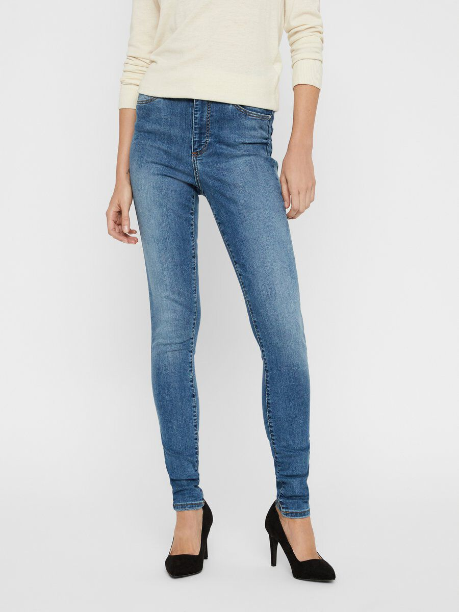 Lucy nw coated biker skinny fit jeans