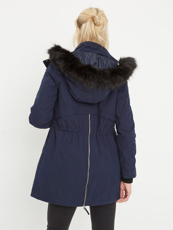 VINTER PARKAS, Navy Blazer, large