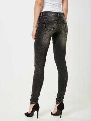 EVE LOW WAIST BIKER SKINNY FIT JEANS