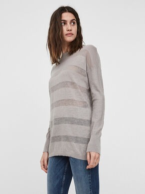 LONG KNITTED BLOUSE