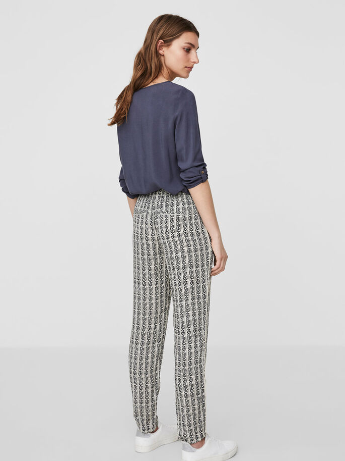 LOOSE FIT TROUSERS, Asphalt, large