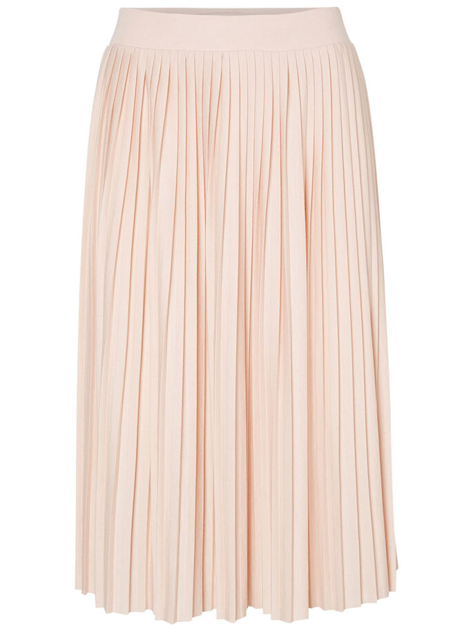 PLEATED SKIRT, Cameo Rose, large