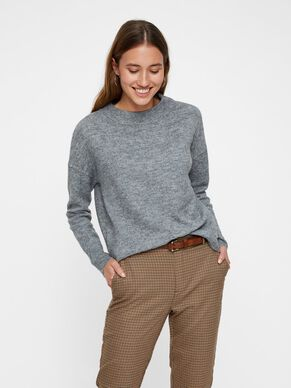 c2d918e7600 COL ROND PULL EN MAILLE