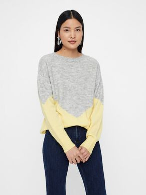 COLOUR BLOCKED KNITTED PULLOVER · COLOUR BLOCKED KNITTED PULLOVER. Vero Moda 120a78888