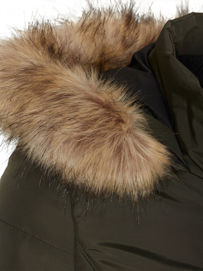 WINTER COAT, Peat, large