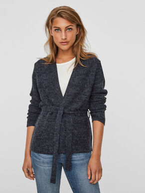 CASUAL STRIKKET CARDIGAN